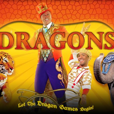 Ringling Bros. Brings Dragons to San Jose