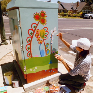 The Art Box Project Beautifies San Jose Utility Boxes