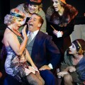 ALL JAZZED UP: Kristen Brownstone's Roxie Hart consults with her lawyer, Billy Flynn (Tim Reynolds) in 'Chicago.' Roxie Music