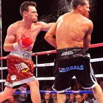 "Robert ""The Ghost"" Guerrero returned to the ring Saturday night at HP Pavilion to take on Selcuk Aydin."