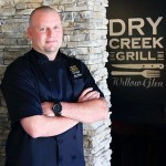NEW IN TOWN: Chef Alex Diels presides at Dry Creek Gill, which just opened on Hamilton Avenue.