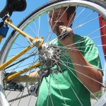 Good Karma Bikes provides training in bicycle mechanics to allow people the opportunity to look for jobs.