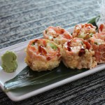 The Specialty Roll prepared by We Sushi. Photo courtesy of We Sushi.