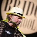 Neil Young at the Bridge School Benefit concert, 2011. // Photo by Jennifer Anderson.