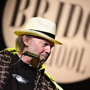 Neil Young Brings Guns N' Roses to Bridge School Benefit