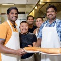 MAXIMUM DOSA: The crew at Dosa & Curry knows how to think big. Photograph by Alex Stover