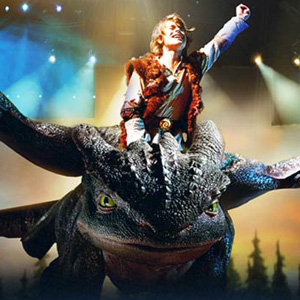 How to Train Your Dragon at HP Pavilion
