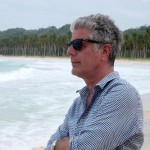 Anthony Bourdain (pictured) and Eric Ripert stop in San Jose on the Good Versus Evil Tour on April 13.