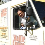 TAKE YOUR TIME: Waffling is OK when the Waffle Amore truck rolls around with managing chef Mark Torio at the helm.