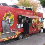 FIT FOR A 49ER: The Gold Rush Eatery specializes in burgers on the go. Photograph by Liz Wassmann
