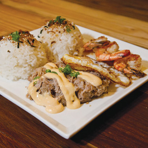 Grub shack a pacific rim hawaiian cuisine fusion - Hawaiian fusion cuisine ...