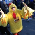 CLOSE ENOUGH Expect a few chickens in the mix at the Silicon Valley Turkey Trot on Thanksgiving Day.