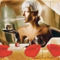 HIGH STYLE: Lavazza Espression's artwork draws from the Italian firm's fashion calendars.