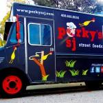 PORCINE POWER  Porky's specializes in its namesake meat.