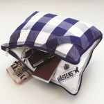 Travel pillow carried at Hastens