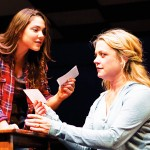BRINGING UP MOTHER: Daughter Natalie (Andrea Ross, left) tries to reason with her mother, Diana (Kendra Kassebaum) in 'Next to Normal.' Tim Fuller/Arizona Theatre Company