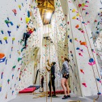 NO FEAR OF HEIGHTS: At the Studio in San Jose, every ascent is an exercise in problem solving. Photograph by Aron Cooperman
