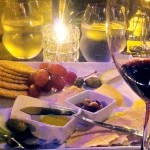 GOOD THINGS COME IN PAIRS: Vyne Bistro offers cheese plates to go with its wine selections.