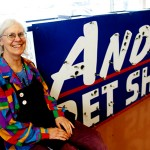 ANIMAL HOUSE: Lissa Shoun took over as owenr of Andy's Pet Shop in late 2007. Since that time, she has cleaned up the business while expanding rescue services, but finances are tight.