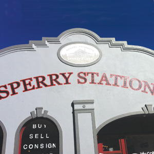 Sperry Station houses Galleries and Artisans