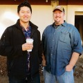 READY TO POUR: Steins owner Ted Kim and chef Colby Reade.