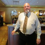 Rick Fleming, manager of Flames restaurant and bar, has lived in San Jose his entire life.