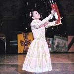 FOREVER YOUNG: Ballet San Jose audiences have long appreciated principal dancer Karen Gabay's turns in 'The Nutcracker.' Photograph by Robert Shomler