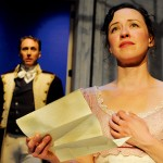 YOUNG LOVERS: Maryssa Wanless and Will Springhorn Jr. in San Jose Stage's adaptation of 'Persuasion.' Photograph by Dave Lepori.