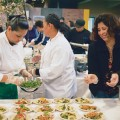 NOSH PIT: Last year's event featured tasty treats. Photograph by Bruno Medeiros