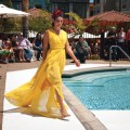 CATWALKER  Santana Row's annual fashion show feature new designs for the season.