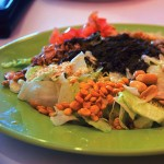 TURNING OVER A NEW TEA LEAF SALAD: Sweet Mango's version adds lettuce to the traditional mix.