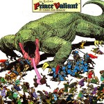 THE LIZARD KING: Free Comic Book Day's freebies include a new collection of vintage 'Prince Valiant' strips.