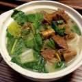 SAVORY CIRCLE  Restaurant Guo Cui specializes in clay pot soups. Photograph by Aaron Carnes