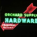 The Orchard Supply Hardware sign on San Carlos is one of the most recognizable landmarks in San Jose.