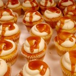 Change in all things is sweet: cupcakes, filled and dripping with house made caramel