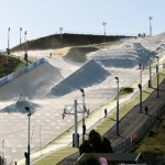 This graphic shows what a snow park in the South Bay could look like.