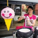 SWEET BOOTH  Renisa Satrijo sells her handmade ice cream at the Sunnyvale Farmer's Market every Saturday. Photograph by Geoffrey Smith II