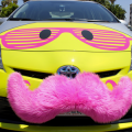 "Lyft made its entry into the Silicon Valley market this month to the chagrin of local cab companies. (Photo by Louis ""Kengi"" Carr, via www.flickr.com/photos/kengikat)"
