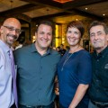 From left: Ron Bryan, GM of the new Campbell location; Angelo Heropoulos, owner; Molly Adam, owner; and Gary Suit, VP of operations.