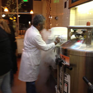Palo Alto's Scoop: Liquid Nitrogen Ice Cream