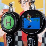 The Magnum IPA and Ale of the Imp from Hermitage Brewing Company.