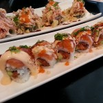 The Geisha Girl's complex flavor draws on ingredients such as spicy tuna, salmon, avocado and macadamia nuts.