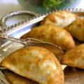 Empanadas are small, flaky turnovers stuffed with a variety of fillings.