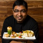 Chef Arindam Bahel gave chaat a California twist by changing out more traditional ingredients for local ones, like avocado.