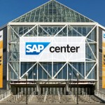 SAP Center will host the Sweet 16 and Elite 8 rounds of the NCAA men's basketball tournament this week.