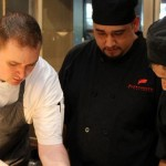 Chef Derek Biazo, left, is the new executive chef at Alexander's Steakhouse.