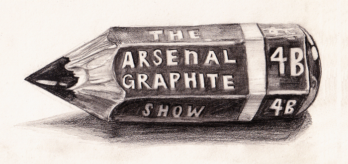The Arsenal Hosts 'Graphite Show,' Restricting Local Artists to Just Their Pencils