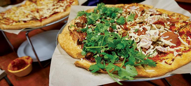 Plant Based Pizza Serves All-Vegan Fare