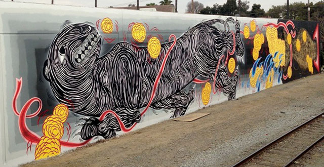 New Mural in Japantown is a Commentary on California's Water Crisis
