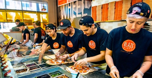 Blaze Fast Offers Free Pizza with San Jose Opening